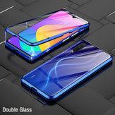 Bakeey 360º Delantero + trasero De doble cara Cuerpo completo 9H Vidrio templado Metal Adsorción magnética Flip Protective Caso Para Xiaomi Mi 9 Mi9 Lite / Xiaomi Mi CC 9