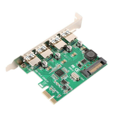 SSU N04S PCI-E to USB3.0 Expansion Card Comes with Four Standard USB3.0 Interfaces for Desktop Computer
