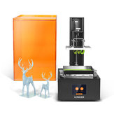Longer® Orange10 UV 3D-printer van hars 98 mm * 55 mm * 140 mm Afdrukformaat 2,8 inch Aanraakscherm Offline afdrukken