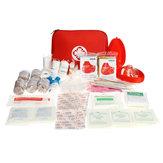 199Pcs Survival First Aid Kit Portable al aire libre cámping SOS Autodefensa Seguridad Emergencia herramientas Bolsa