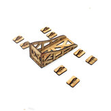 Universal Wooden Motor Mount Holder Seat for 2208 2212 2216 Motor RC Model