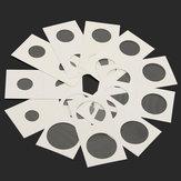 50X Briefmarkenmünzkarton Inhaber nicht klebende Lagerung Papiertüte Fall alle Größen