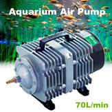 70L / min 35W / 45W Электромагнитный Аквариум Air Насос Компрессор Fish Pond 220V