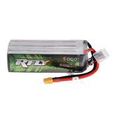 ACE RFLY 22.2V 6000mAh 75C 6S Lipo Battery for RC 700 Helicopter A-10 Thunderbolt II 70mm Airplane