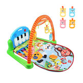 3 en 1 Rainforest Musical Lullaby Baby Activity Playmat Gym Estera de juguetes