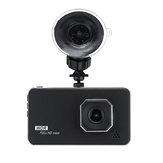 4 Inch HD 1080P Dual Lens Car DVR Vehicle Dash Cam Video Camera Recorder