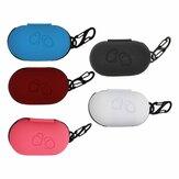 Bakeey Portable Shockproof Silicone Earphone Storage Case with KeyChain for Samsung Galaxy Buds