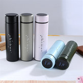 500ml Smart LED Temperature Display Stainless Steel Vacuum Cup Water Bottle Gift