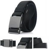 AWMN 125cm x 3.8cm Zinc Alloy Magnetic Buckle Quick Release Nylon Belts