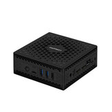 Chatreey AC1-Z Mini PC Intel Celeron J3455 4 GB DDR3 64 GB eMMC Quad Core 1,5 GHz a 2,3 GHz Intel HD Graphics 500 HDMI monitor duplo Windows 10 Linux HTPC