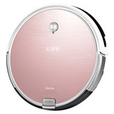 ILIFE X620 Robot Vacuum Cleaner 2 in 1 Wet and Dry Mopping 2000Pa Auto-damp Mapping, Plan Path, Auto Change WITH Electrowall Wall Barrier