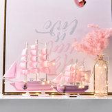 20/24/30 CM Gemi Modeli Klasik Ahşap Yelkenli Tekneler Tartı Dekorasyon Ahşap Kitleri
