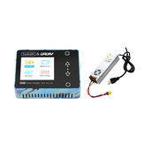 ToolkitRC & URUAV M600 150W 10A DC MINI Smart LCD 1-6S Lipo Battery Balance Charger Discharger with LANTIAN 24V 16.6A Power Supply
