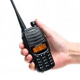 Baofeng UV-990 Walkie Talkie Üçlü 10 W Çift PTT VHF UHF Çift Band Jambon CB Radyo İki Yönlü Ses Siyah