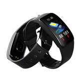 Bakeey A59+ Real-time Call Message Reminder PPG+SP02 Health Monitor Fahsion 1.14inch Sport Smart Watch