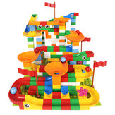 42/88 PCS Maze Ball Track Building Blocks ABS Entonnoir Slide Assemble Bricks Blocks Toys