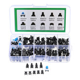 180 Pcs 10 Nilai Tactile Push Button Beralih Mini Sesaat Tact Assortment Kit DIY