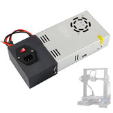 AC110 / 220V DC24V 15A Fuente de alimentación conmutada regulada de lecho calentado con interruptor de encendido / apagado para la impresora 3D Ender-3 Pro
