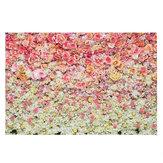 3x5FT 5x7FT Vinil Rosa Fundo de estúdio para fotografia de flor rosa amarela
