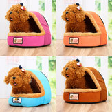 Pet Bed Puppy Cushion House Soft Pad Warm Nest Kennel Dog Mat Koc