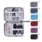 Multifonction Digital Storage Bag Travel Cable Bag Chargeur USB Ecouteur Organisateur