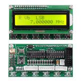 DC8V-9V AD9850 6 Bandas 0-55MHz Frequência LCD DDS Gerador de sinal Módulo de função digital Gerador de sinal