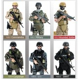 12 inch 300 mm 1/6 Uniform militair leger soldaat set Model SWAT SDU Combat Game Action Figure Toys Gift