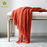 Cotton Cashmere Crochet Nordic Blankets Good Soft Sofa Cover Blanket Winter Bed Bedding Warm Soft Quilt Bed Supplies