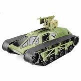 Feilun FC138 1/12 2.4G 30 km / h RC Tank Elektryczny opancerzony pojazd terenowy Model RTR