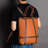 पुरुषोंमहिलाओंकीबड़ीक्षमताअशुद्ध चमड़ा व्यापार बैग बैग