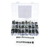 660 stks 24 Waarde Condensator Kit 100 V 2A221J tot 2A474J Polyester Filmcondensator Diverse Kit 0.47nF 0.68nF 1nF 2.2nF Condensatoren