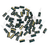 50Pcs 16V 2200UF 10 x 20MM High Frequency Low ESR Radial Electrolytic Capacitor