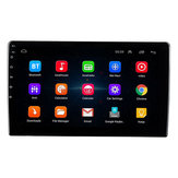 10.1 inch for Android 8.1 Car Stereo Radio 2.5D Quad Core 1+16G MP5 Player GPS Navigation WIFI DPS Support Rear Camera DVR