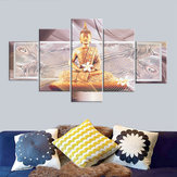 5 Pcs Unframed Canvas Print Paintings Picture Home Bedroom Wall Art Decorations
