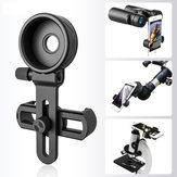 IPree® CM-8 62-105mm Telescope Phone Clip Phone Clamp Bracket Phone Holder For Telescopic