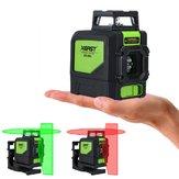 XEAST XE-901 Laser Level 5 Lines 3D Grüne Laser Levels Selbstnivellierend 360 Horizontal und Vertikal Kreuz Super leistungsstarke grüne Laserstrahllinie
