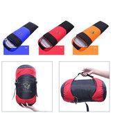 1800g Winter White Duck Down Single Sleeping Bag Warm Lightweight Outdoor Camping Sleeping Bag-Orange/Red/Blue