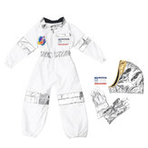 Childs Kids Astronaut Costume Space Suit Toddler Astronaut Role Play Props