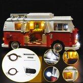 Bijgewerkt LED-lichtverlichtingsset voor LEGO 10220 T1 Campingbus VW CAMPER VAN Bricks