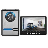 ENNIO 815FA11 HD 7 inch TFT Color Video Door Phone Intercom Doorbell Home Security Camera Monitor Night Vision System