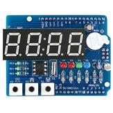 ClockShieldRTCDS1307Modulemultifunctioneel uitbreidingsbord met 4-cijferige display-lichtsensor en thermistor OPEN-SMART voor Arduino - producten die werken met officiële Arduino-boards