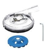 5 Pollici Kit mola abrasiva per smerigliatrice angolare a disco con mola diamantata taglio pietra granito