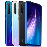 Xiaomi Redmi Note 8 Global Version 6,3 polegadas 48MP Quad Rear Camera 4GB 128GB 4000mAh Snapdragon 665 Octa core 4G Smartphone