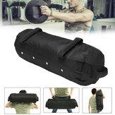 40/50/60 Ibs Bolsa de arena de levantamiento de pesas ajustable Aptitud Peso de entrenamiento muscular Bolsa Ejercicio herramientas