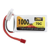 ZOP Power 7.4V 1000mAh 70C 2S Lipo Battery T Plug for SG 1601 1602 RC Car Wltoys V912 V912 V262 V353 Helicopter