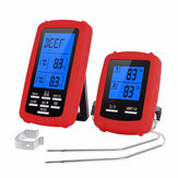 Bakeey Kitchen Food BBQ Thermometer Drahtloses Zweikanal-Digitalanzeigethermometer