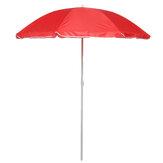 1,8 m 8 żeber Zewnętrzny parasol plażowy Regulowane stalowe słupki Ogród Patio Parasol przeciwsłoneczny