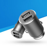 Bakeey QC2.0 30W Dual USB snellader autolader voor iPhone XS 11 Pro Huawei P30 Mi9 S10 + Note10