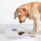 Automatischer Pet Smart Feeder Timing Feeder 6 Mahlzeiten 6 Gitter Katze Dog Electric Dry