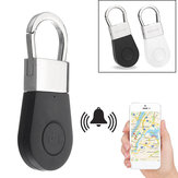 Bakeey R2 Wireless Bluetooth 4.0 Smart Tracker Anti-Lost Alarm Tracker Buscador de llaves Mini multifuncional Child Bolsa Buscador de billetera para mascotas GPS Localizador Controlador de botón de liberación